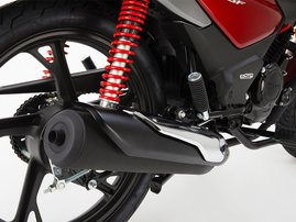 55916 21YM CB125F R369 REDSTUDIO DETAIL EXHAUST ORIGINAL
