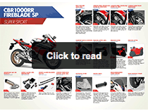 HME Accessories - CBR1000RR SP